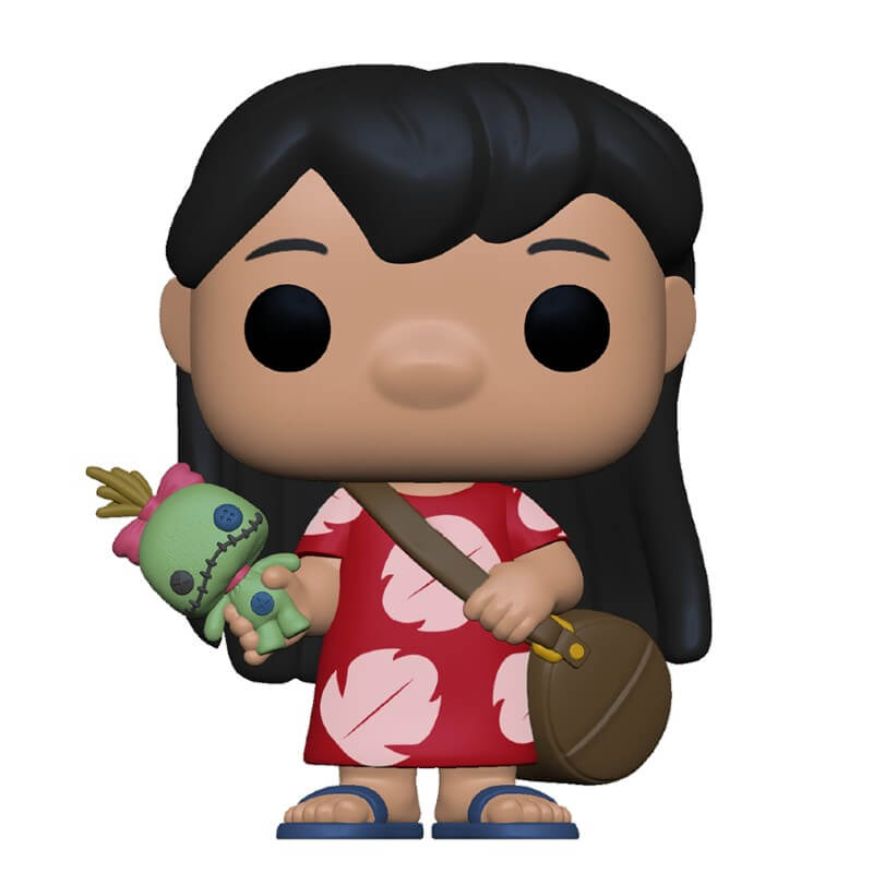 Lilo & Stitch POP! Vinyl Figure Lilo with Scrump 9 cm