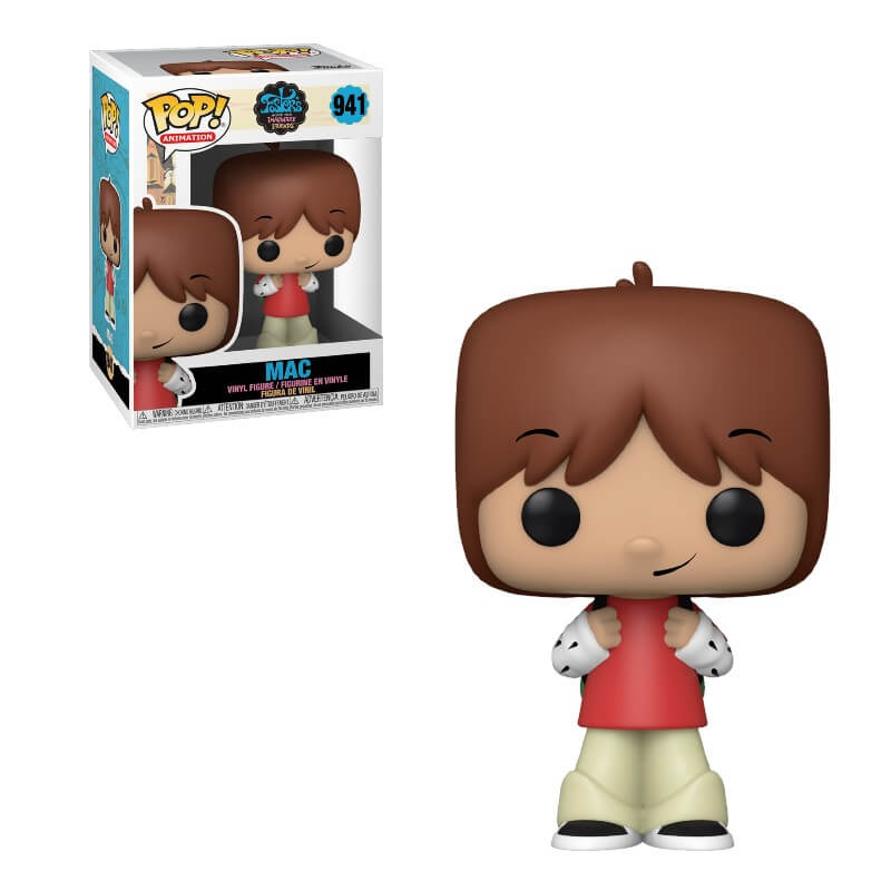 Foster's Home for Imaginary Friends POP! Television Vinyl Figure Mac 9 cm