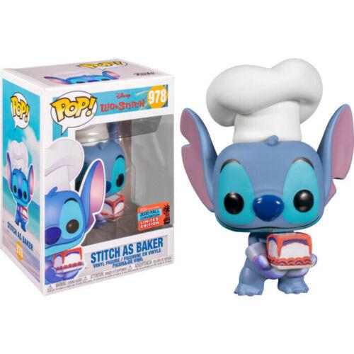 Lilo & Stitch POP! Vinyl Figure Stitch as Baker (2020 Fall Convention Exclusive)