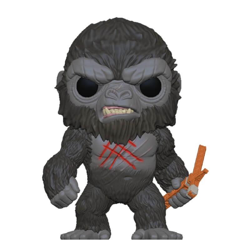 Godzilla Vs Kong POP! Movies Vinyl Figure Battle Worn Kong 9 cm