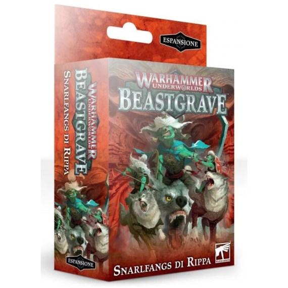 Warhammer Underworlds: Beastgrave – Snarlfangs di Rippa