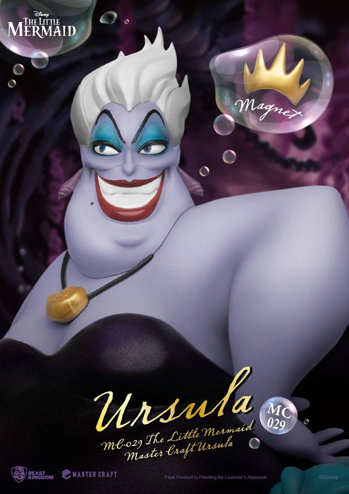 The Little Mermaid Master Craft Statue Ursula 41 cm
