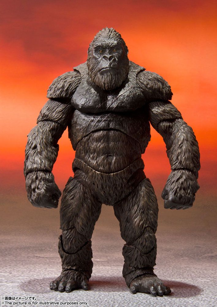 Godzilla vs. Kong 2021 S.H. MonsterArts Action Figure Kong 15 cm