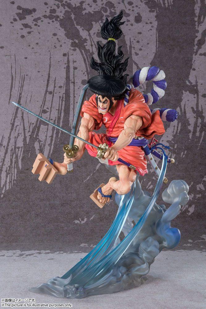 One Piece FiguartsZERO PVC Statue (Extra Battle) Kozuki Oden 30 cm