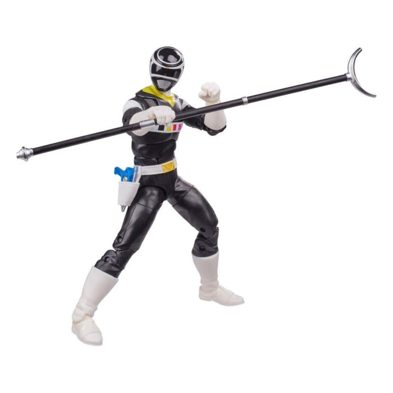Power Rangers Lightning Collection 2021 Wave 3 Action Figure In Space Black Ranger 15 cm