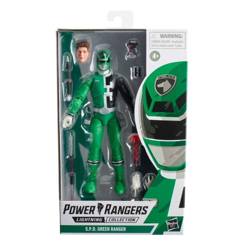 Power Rangers Lightning Collection 2021 Wave 3 Action Figure S.P.D. Green Ranger 15 cm