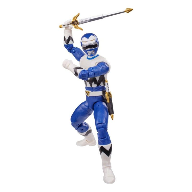 Power Rangers Lightning Collection 2021 Wave 3 Action Figure Lost Galaxy Blue Ranger 15 cm