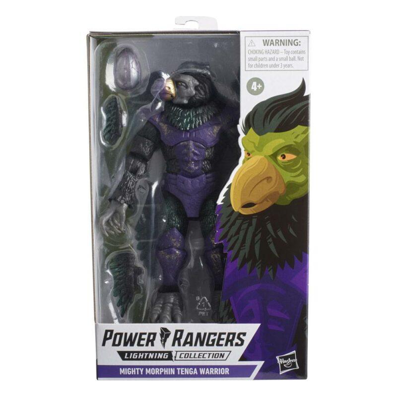 Power Rangers Lightning Collection 2021 Wave 3 Action Figure Mighty Morphin Tenga Warrior 15 cm