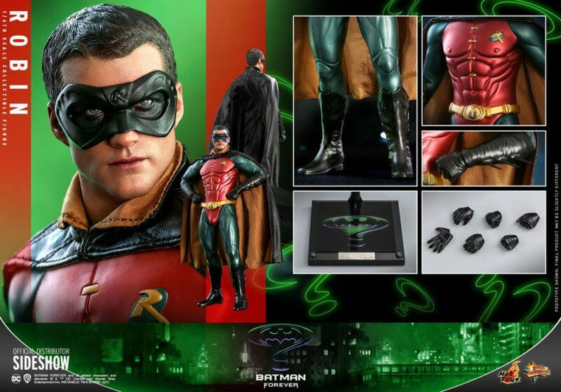 Batman Forever Movie Masterpiece Action Figure 1/6 Robin 30 cm