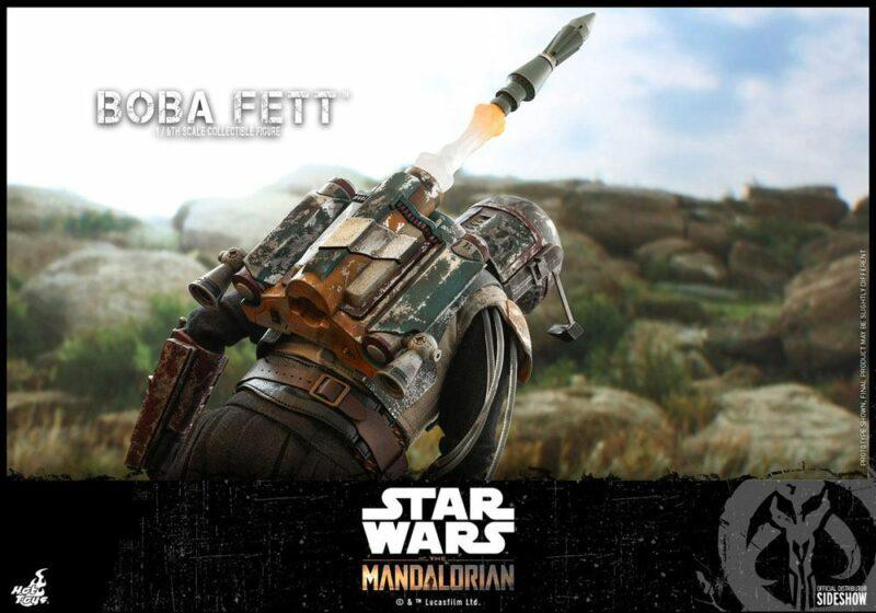 Star Wars The Mandalorian Action Figure 1/6 Boba Fett 30 cm