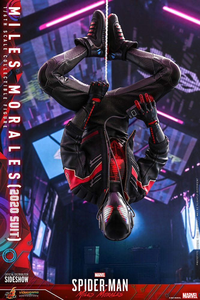 Marvel's Spider-Man: Miles Morales Video Game Masterpiece Action Figure 1/6Miles Morales (2020 Suit)