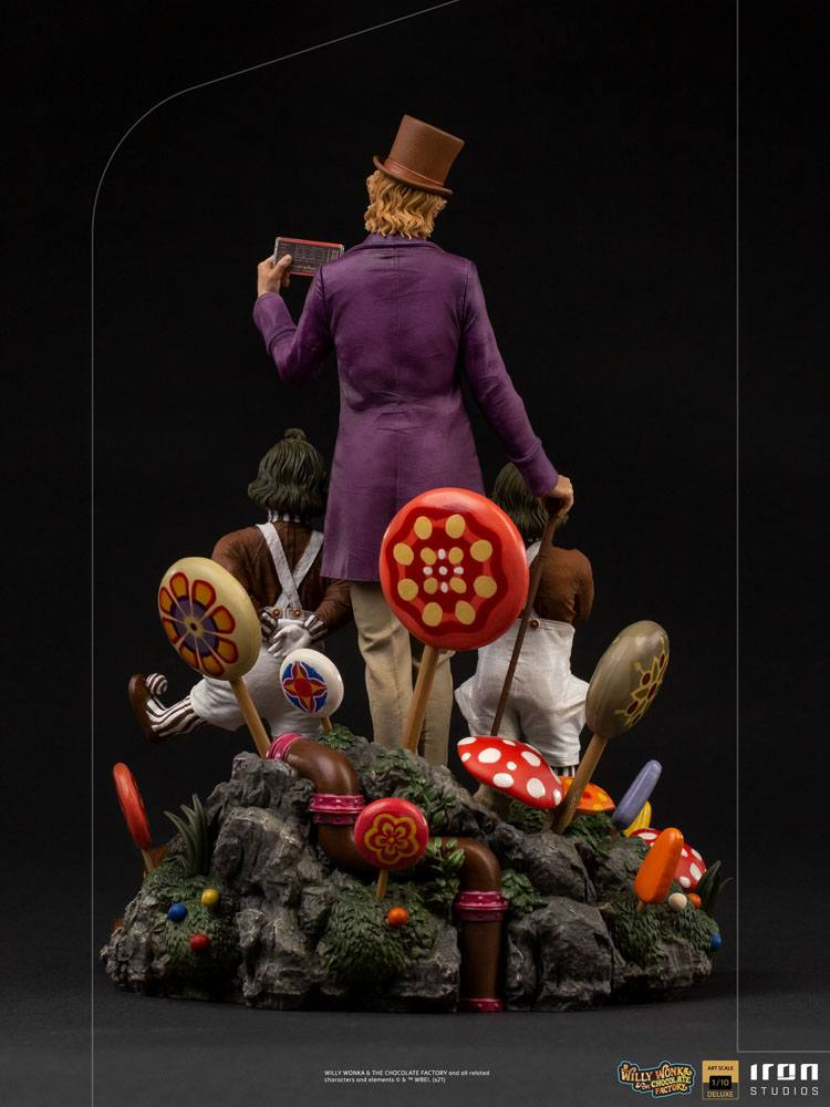 Willy Wonka & the Chocolate Factory (1971) Deluxe Art Scale Statue 1/10 Willy Wonka 25 cm