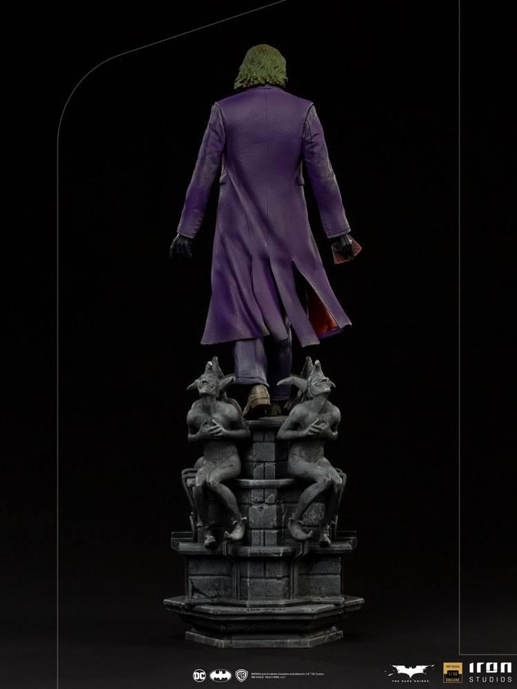 Batman The Dark Knight Deluxe Art Scale Statue 1/10 The Joker 30 cm