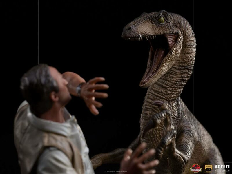 Jurassic Park Deluxe Art Scale Statue 1/10 Clever Girl 25 cm
