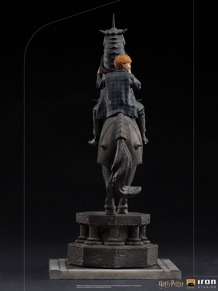 Harry Potter Deluxe Art Scale Statue 1/10 Ron Weasley at the Wizard Chess 35 cm