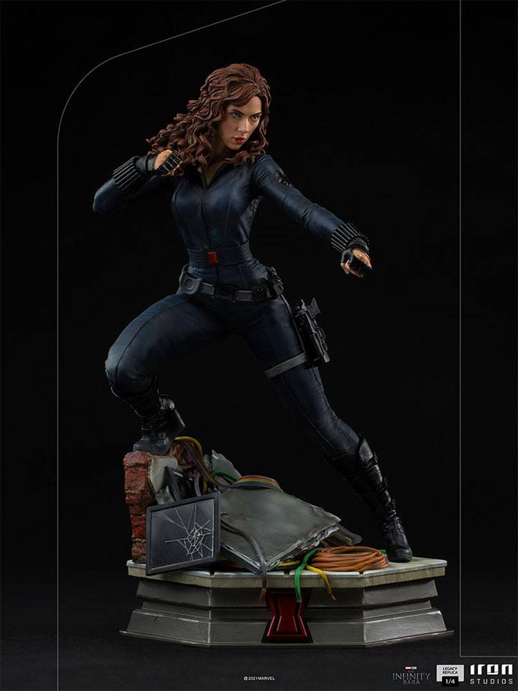 Avengers Infinity War Legacy Replica Statue 1/4 Black Widow 46 cm