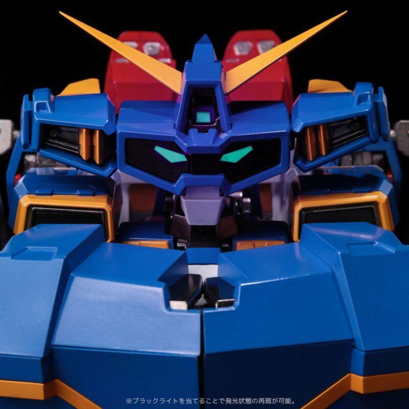 Super Robot Wars X-O PVC / Diecast Action Figure Riobot SRX Transform Combine 35 cm