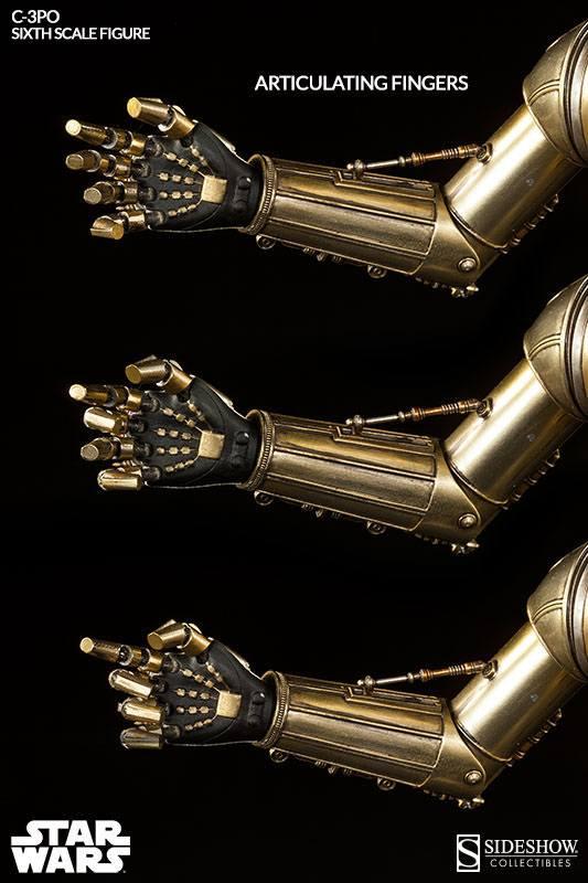 Star Wars Action Figure 1/6 C-3PO 30 cm