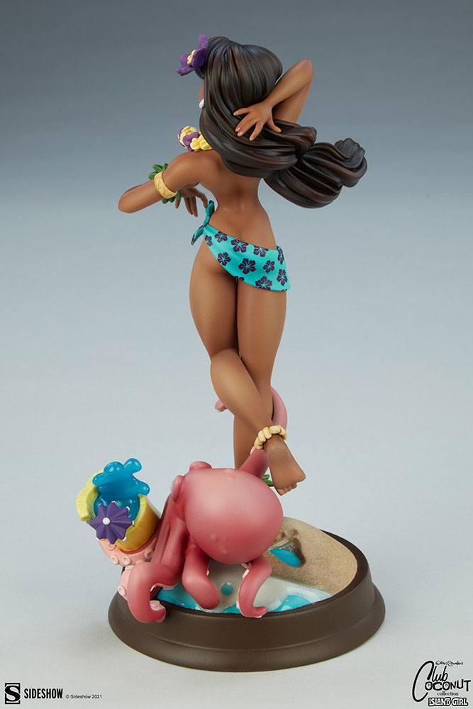 Original Artist Series Statue Island Girl by Chris Sanders 30 cm