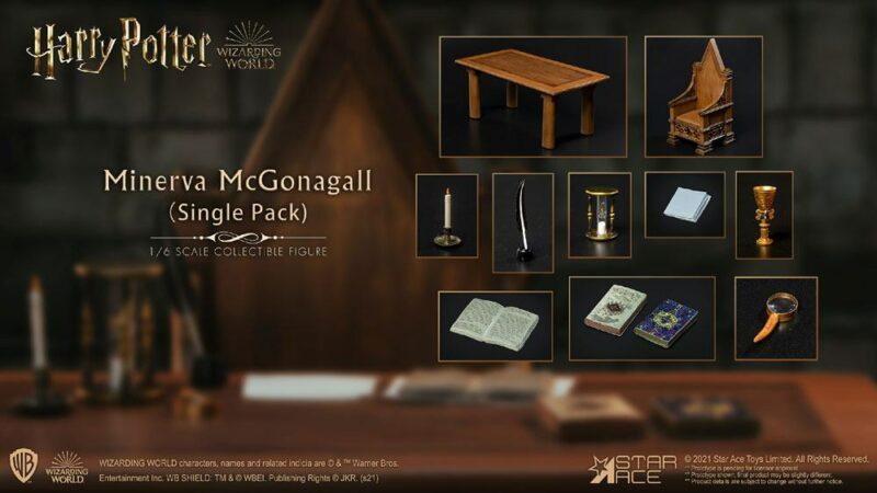 Harry Potter My Favourite Movie 1/6 Minerva McGonagall Desk