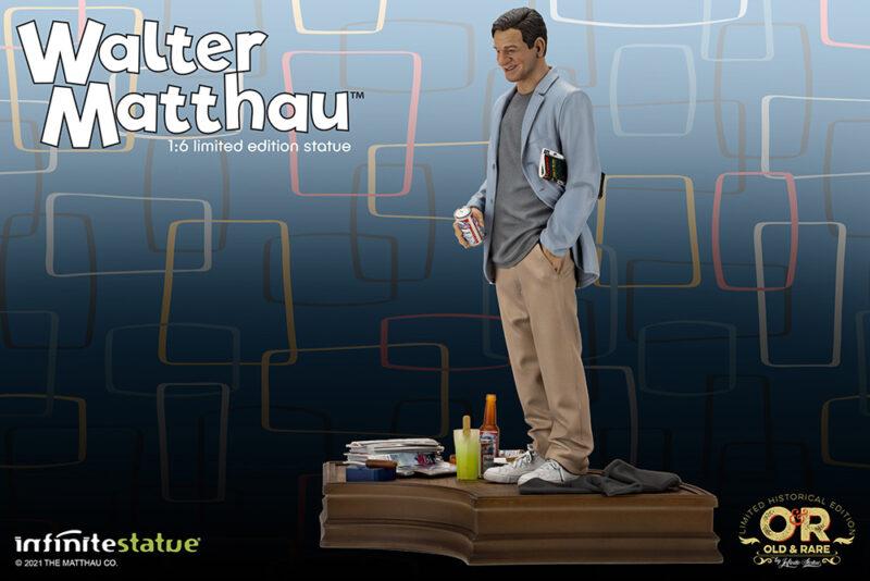 WALTER MATTHAU OLD&RARE 1/6 RESIN STATUE