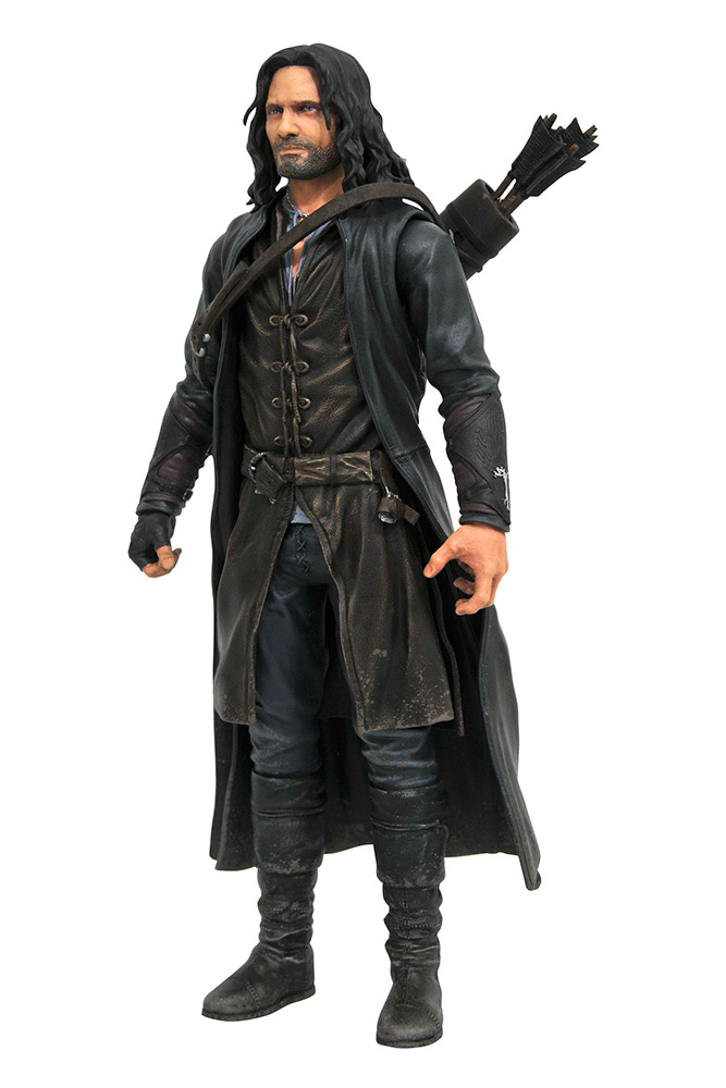 LORD OF THE RINGS SERIES 3 ARAGORN ACTION FIGURE