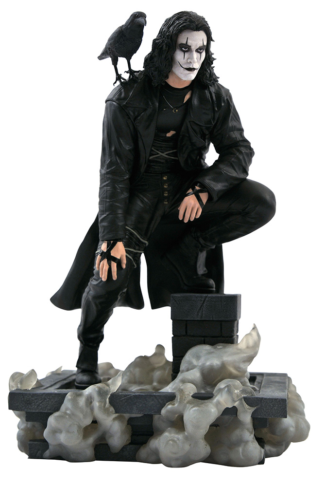 The Crow Movie Gallery PVC Statue Rooftop 25 cm