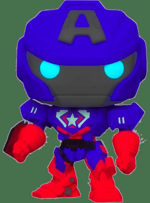 Avengers Mech Strike POP! Vinyl Figure Captain America Glow in the Dark Limited 9 cm