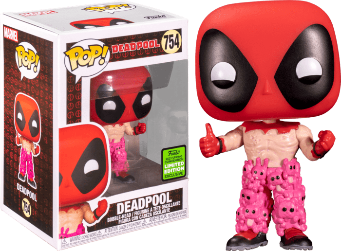 Deadpool POP! Vinyl Figure Deadpool in Teddy Pants Limited 9 cm (con bollino Spring Convention 2021)