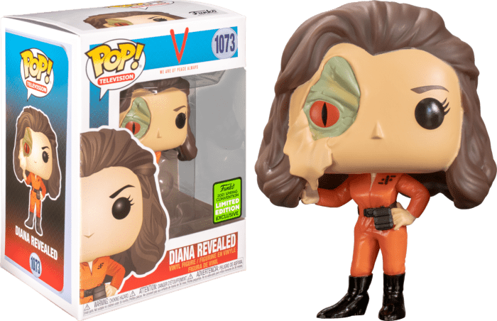 V (1984) POP! Vinyl Figure Diana with Lizard Face Limited 9 cm (con bollino Spring Convention 2021)