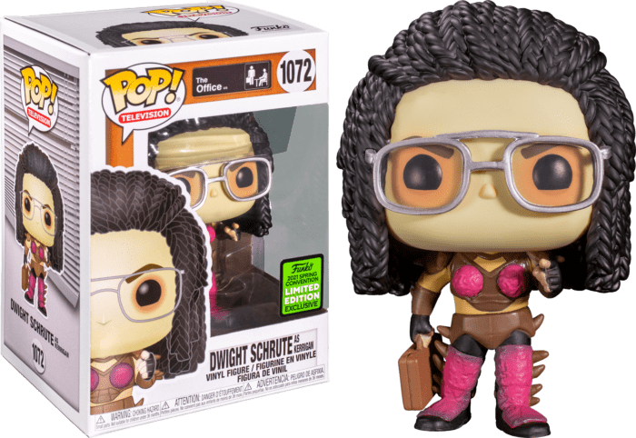 The Office POP! Vinyl Figure Dwight Schrute as Kerrigan Limited 9 cm (con bollino Spring Convention 2021)