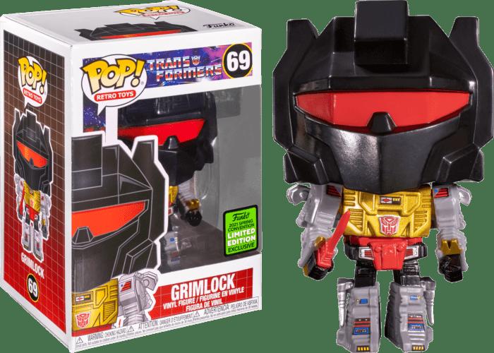 Transformers (1984) POP! Vinyl Figure Grimlock Limited 9 cm (con bollino Spring Convention 2021)