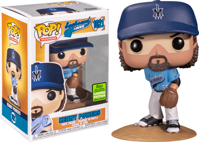 Eastbound & Down POP! Vinyl Figure Kenny Powers in Myrtle Beach Mermen Uniform Limited 9 cm (con bollino Spring Convention 2021)