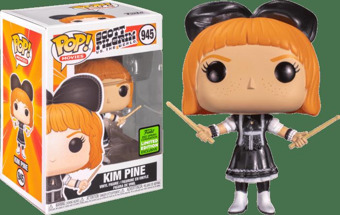 Scott Pilgrim vs The World POP! Vinyl Figure Kim Pine Limited 9 cm (con bollino Spring Convention 2021)