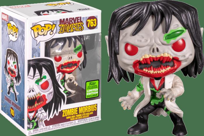Marvel Zombies POP! Vinyl Figure Morbius Zombie Limited 9 cm (con bollino Spring Convention 2021)