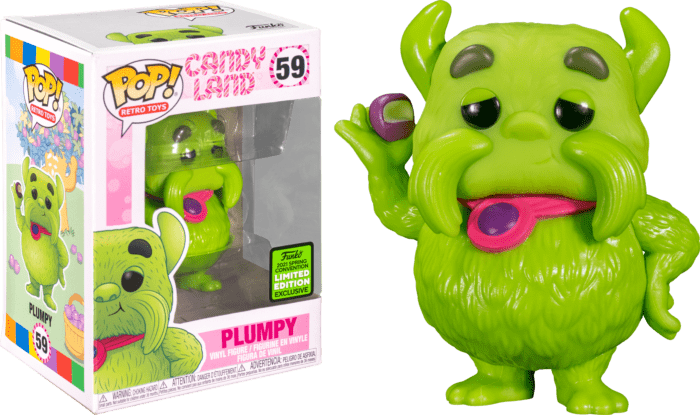 Candy Land POP! Vinyl Figure Plumpy Limited 9 cm (con bollino Spring Convention 2021)