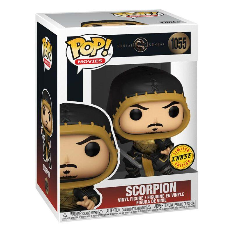 Mortal Kombat Movie POP! Movies Vinyl Figures Scorpion 9 cm Assortment (2)