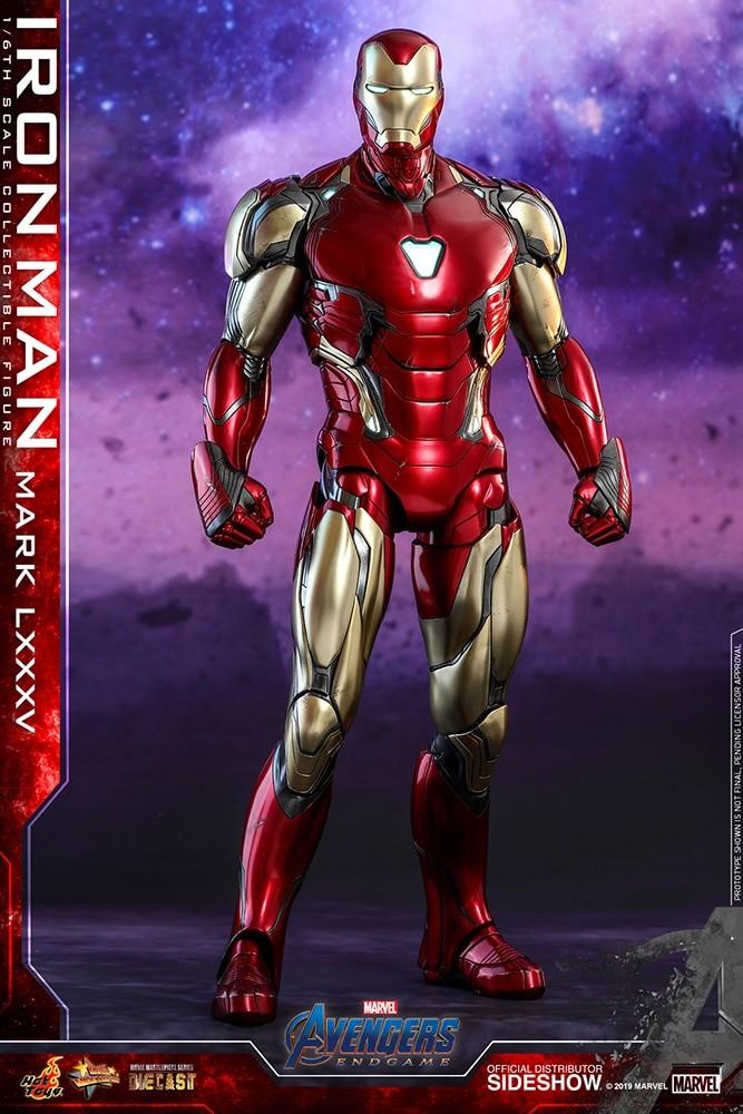 Avengers: Endgame Movie Masterpiece Series Diecast Action Figure 1/6 Iron Man Mark LXXXV 32 cm