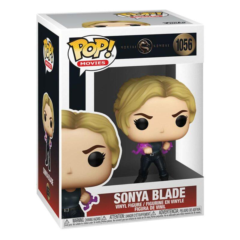 Mortal Kombat Movie POP! Movies Vinyl Figure Sonya Blade 9 cm