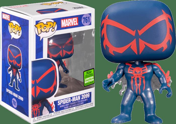 Spider-Man POP! Vinyl Figure Spider-Man 2099 Limited 9 cm (con bollino Spring Convention 2021)