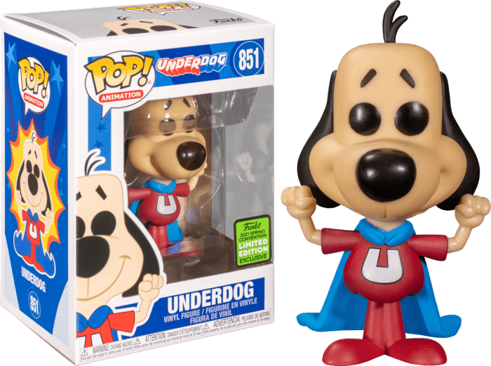 Underdog POP! Vinyl Figure Underdog Limited 9 cm (con bollino Spring Convention 2021)