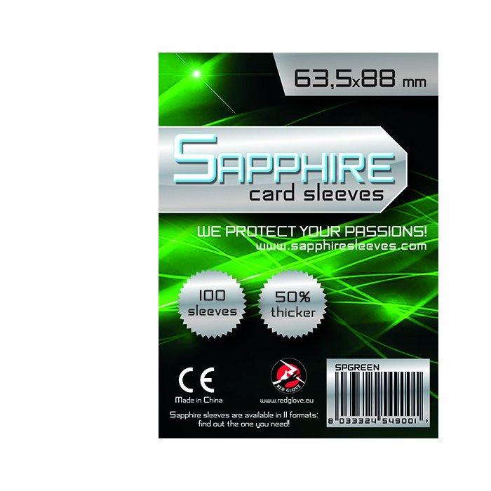 Bustine Protettive Sapphire (Card Sleeves, 63,5x88 - confezione da 100)