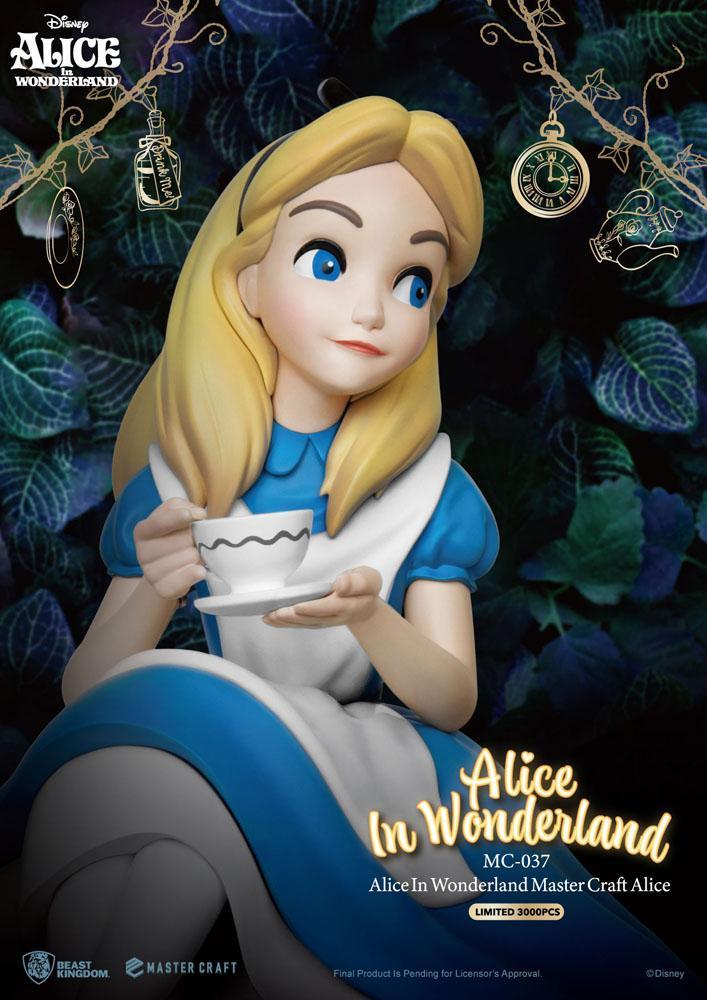 Alice In Wonderland Master Craft Statue Alice 36 cm