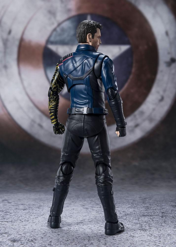 The Falcon and the Winter Soldier S.H. Figuarts Action Figure Bucky Barnes 15 cm