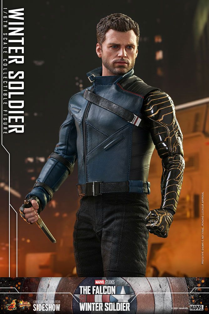 The Falcon and The Winter Soldier Action Figure 1/6 Winter Soldier 30 cm