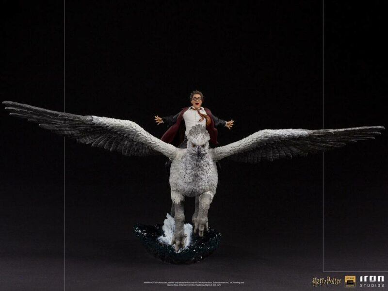 Harry Potter Deluxe Art Scale Statue 1/10 Harry Potter and Buckbeak 30 cm