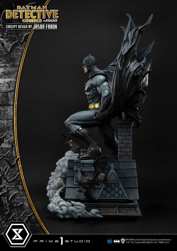 DC Comics Statue Batman Detective Comics #1000 Concept Design by Jason Fabok 105 cm