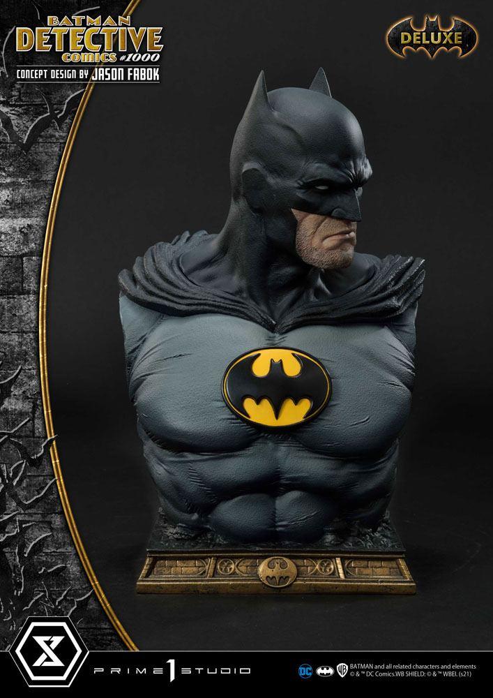 DC Comics Statue Batman Detective Comics #1000 Concept Design by Jason Fabok DX Bonus Ver. 105 cm