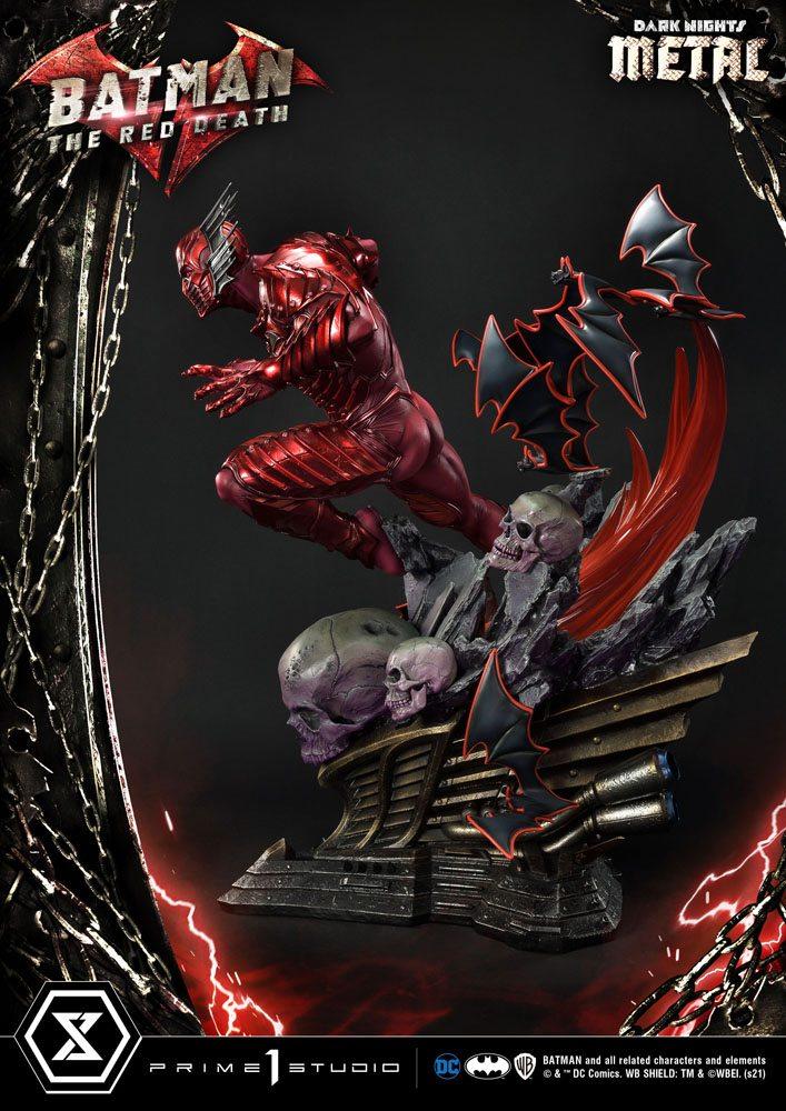 Dark Nights: Metal Statue 1/3 The Red Death 75 cm