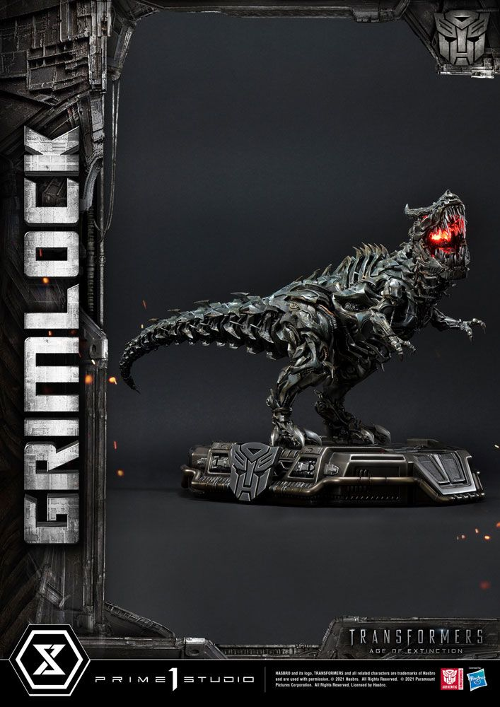 Transformers Age of Extinction Statue Grimlock 37 cm